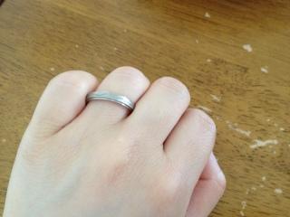 【CITIZEN Bridal(シチズンブライダル) / ディズニーシリーズの口コミ】 シンプル過ぎず男性が付けて居ても違和感のないオシャレな指輪を探してい…