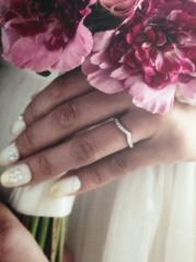 【アイプリモ(I-PRIMO)の口コミ】 婚約指輪を主人がI-PRIMOで買ってくれたので、婚約指輪も同じブラン…