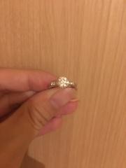 【ハリー・ウィンストン(Harry Winston)の口コミ】 婚約指輪は王道の型で華やかなものを探しました。いくつかのブランドで様…