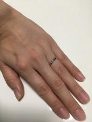 【JEWELRY  KAMATA(ジュエリーかまた)の口コミ】 ほぼフルオーダーで作っていただきました。2人の思い出を指輪にふんだんに…