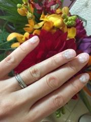 【銀座ダイヤモンドシライシの口コミ】 エタニティーが良かったので婚約指輪も自分でデザインを選びました。店名…