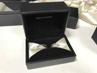【エクセルコダイヤモンド(EXELCO DIAMOND)の口コミ】 何店舗かまわったが、最後に訪れたエクセルコダイヤモンドで決定。決め手は…