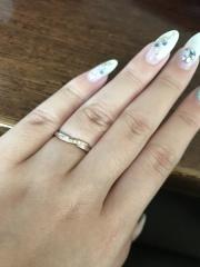 【スタージュエリー(STAR JEWELRY)の口コミ】 初めて指輪を見に行ったのがスタージュエリーでその後予算的に下げようとT…