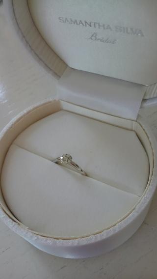 【サマンサシルヴァブライダルの口コミ】 もともとサマンサタバサのブランドが好きなこともあって、指輪はここのブ…