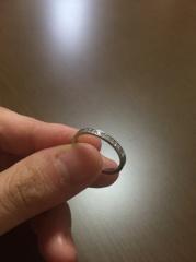 【アイプリモ(I-PRIMO)の口コミ】 石が付いている指輪が欲しかったのですが、使っているうちに取れてしまわ…
