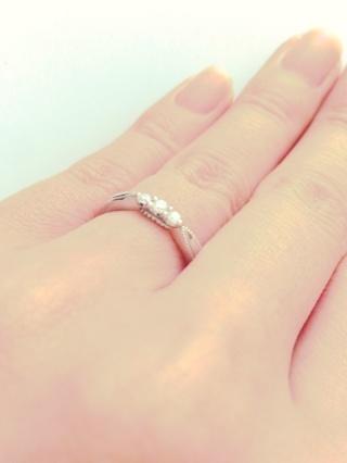 【エクセルコダイヤモンド(EXELCO DIAMOND)の口コミ】 指輪のエリザベートという名前の由来とデザインに一目惚れし、夫も納得して…