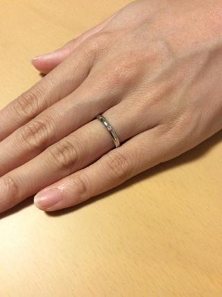 【銀座ダイヤモンドシライシの口コミ】 シンプルだが、デザインを好みで選択できたこと。さらに、思い描いていた…