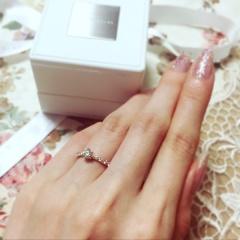 【スタージュエリー(STAR JEWELRY)の口コミ】 普段使いもできる指輪がいいなと思い探していました。ダイヤをいろいろ見て…