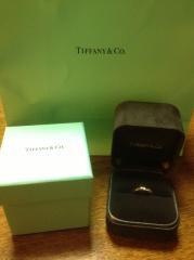 【ティファニー(Tiffany & Co.)の口コミ】 指輪は、ティファニーと決めていた為、私の希望でティファニーにしました…
