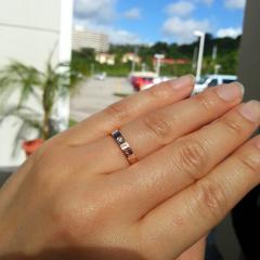 【カルティエ(Cartier)の口コミ】 以前つけていた指輪は14Kだったので、肌が荒れてしまい買い直しました。 …