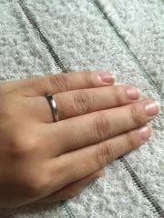 【俄(にわか)の口コミ】 シンプルで着けやすい一生ものの(結婚指輪なので当然ですが&hellip…