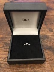 【EIKA(エイカ)の口コミ】 サプライズでプロポーズを考えていました。 しかし、彼女の指輪のサイズが…