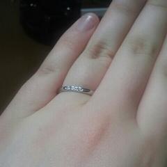 【MIKIMOTO(ミキモト)の口コミ】 6月に挙げる挙式に向けて結婚指輪を選びに行ったのですが、はじめはシン…