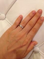 【ブルガリ(BVLGARI)の口コミ】 バリのブルガリホテルで挙式したので、結婚指輪も絶対ブルガリにしようと2…