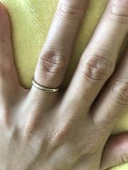 【TANZO(タンゾウ)の口コミ】 重ね付けして普段使いできるような婚約指輪をTANZOでフルオーダーし、…