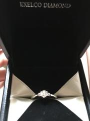 【エクセルコダイヤモンド(EXELCO DIAMOND)の口コミ】 希望の価格帯で色々なデザインを提案して下さりました(^ ^)ダイアはキ…