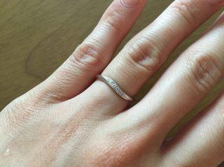 【4℃(ヨンドシー)の口コミ】 結婚当初はお金が無くて結婚指輪を買えませんでした。 結婚後しばらくして…