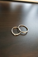 【HARADA BRIDAL(ハラダブライダル)の口コミ】 「シンプルなものがいい」というのが夫婦そろっての意見だったので、大きな…