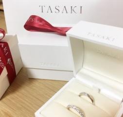 【TASAKI(タサキ)の口コミ】 海外ブランドがあまり好みでない私たちは日本のブランドで指輪を探し始め…