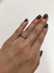 【Arc Jewelry Studio(アークジュエリースタジオ)の口コミ】 世界でひとつの指輪をオリジナルで作れるところ。 プラチナでゴツメの指輪…
