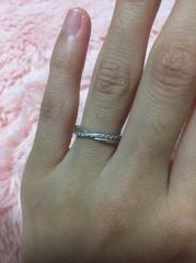 【ヴァンドーム青山(Vendome Aoyama)の口コミ】 結婚指輪は一生身に付けるものなのでいくつになっても似合うようなデザイ…