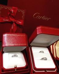 【カルティエ(Cartier)の口コミ】 私も主人も、つけるなら、あげるなら、カルティエのソリテールが良いと思っ…