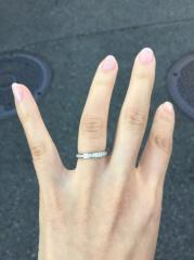 【カルティエ(Cartier)の口コミ】 カルティエのタンクの時計を長年利用しており結婚指輪も同じブランドのも…