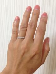 【アイプリモ(I-PRIMO)の口コミ】 結婚指輪は、長年着けておくものなので、飽きのこない男女ともにシンプルな…