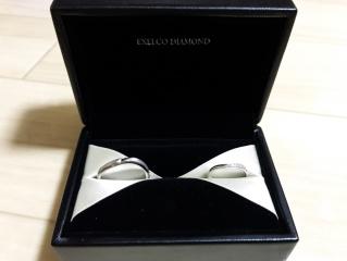 【エクセルコダイヤモンド(EXELCO DIAMOND)の口コミ】 結婚指輪を検討していたので、 EXELCO DIAMONDさんのイベン…