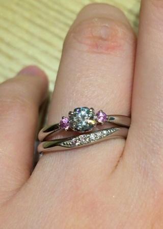 【CAFERING(カフェリング)の口コミ】 憧れだったピンクダイヤが、現在オーストラリアのアーガイル鉱山でしか採…