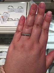 【アイプリモ(I-PRIMO)の口コミ】 シンプルで細身の指輪で2mm幅の指輪はアイプリモでしか見ませんでした。…