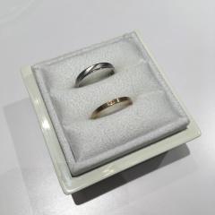 【LUCIE(ルシエ)の口コミ】 最初は個性的な指輪が欲しいと思っていたのですが、この指輪はシンプルな…