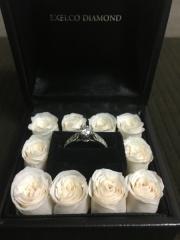 【エクセルコダイヤモンド(EXELCO DIAMOND)の口コミ】 婚約者と一緒に買いに行きました。 なるべく婚約者が欲しいものを 買って…