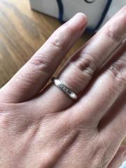 【4℃(ヨンドシー)の口コミ】 私達は一生モノの指輪にこだわらず、5年ごとの記念日に、その時の自分達に…