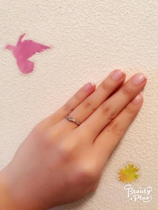 【アイプリモ(I-PRIMO)の口コミ】 結婚指輪に金額をかけられなかったので、そんなに高くはないけれど、シンプ…