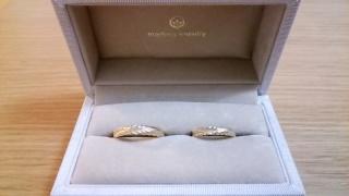 【メデルジュエリー(Mederu jewelry)の口コミ】 以前から指輪に限らず、ごてごてしていない線の細い繊細なジュエリーが多…