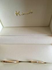 【ケイウノ ブライダル(K.UNO BRIDAL)の口コミ】 DIYができるという点が、指輪を購入する上でとても重要なポイントでした…