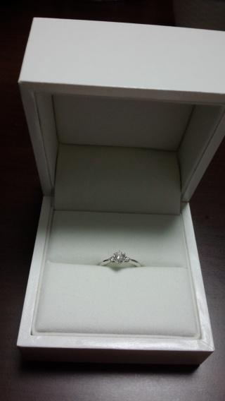 【ギンザタナカブライダル(GINZA TANAKA BRIDAL)の口コミ】 色々な店で婚約指輪を比較したのですが、気に入るものがなく、オーダーメ…