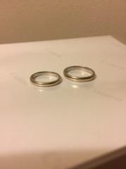 【ete(エテ)の口コミ】 人と被らないデザインで、でも個性的すぎず普段使いできる結婚指輪を探し…
