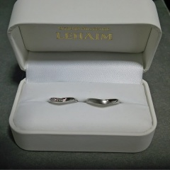 【LEHAIM(レハイム)の口コミ】 普段から指輪を付け慣れていないので 細身のデザインのもので、男性物はつ…
