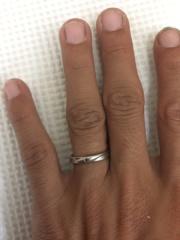 【WAKO BRIDALの口コミ】 定員さんから提案された時に人目惚れしました。 嫁と二人の誕生石を指輪に…
