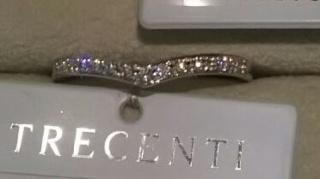 【TRECENTI(トレセンテ)の口コミ】 メレダイヤがふんだんに散りばめられています。かなり華やかな印象ですが、…