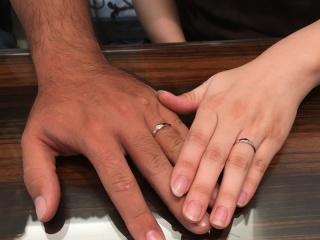 【俄(にわか)の口コミ】 結婚指輪を探してる時期にネットの広告でたまたま俄の指輪が目にとまりまし…