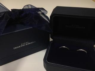 【銀座ダイヤモンドシライシの口コミ】 これからずっと着けていく結婚指輪としての特別感が得られました。デザイン…