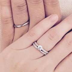 【銀座ダイヤモンドシライシの口コミ】 婚約指輪を探すときに、ダイヤモンドが周りにも付いているものでなるべくリ…