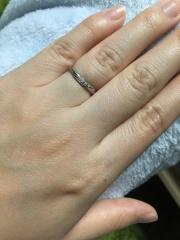 【アイプリモ(I-PRIMO)の口コミ】 プロポーズの時に貰った婚約指輪は、他店ではあるものの、何か特別な日やお…