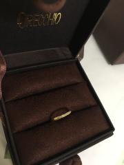 【ORECCHIO(オレッキオ)の口コミ】 金色の指輪を探していました。また日常でずっとつけていたかったので、あ…