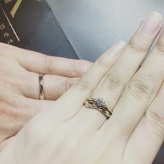 【SONARE(ソナーレ)の口コミ】 フィーリングです!! 色々な指輪を試着させて頂きましたが、購入した指輪…
