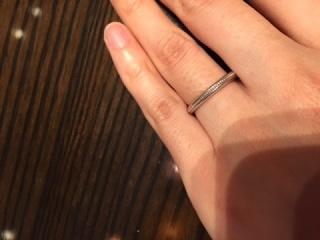 【ケイウノ ブライダル(K.UNO BRIDAL)の口コミ】 ディズニーが好きな方にはぴったりの指輪だと思います。 私は年齢的に少し…