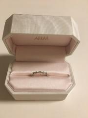 【AHKAH(アーカー)の口コミ】 元々憧れのブランドでした。 私の指が太めでゴツゴツしてるので、普通の指…